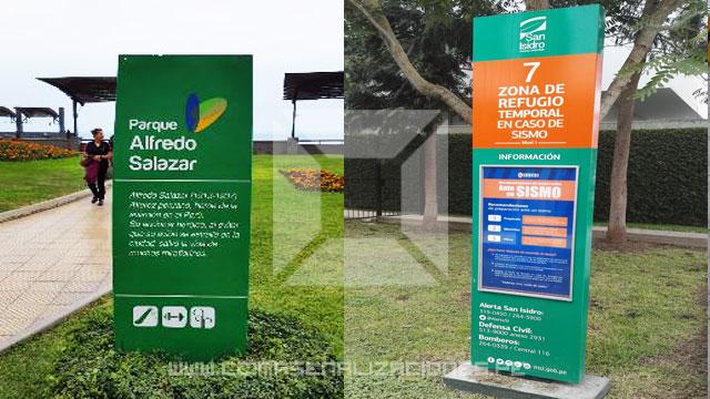 Tótens O Tótem Publicitarios E Informativos Tótens O Tótem Luminosos E Informativos En Perú